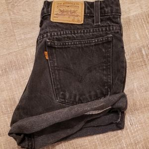 Levi's high waisted vintage shorts